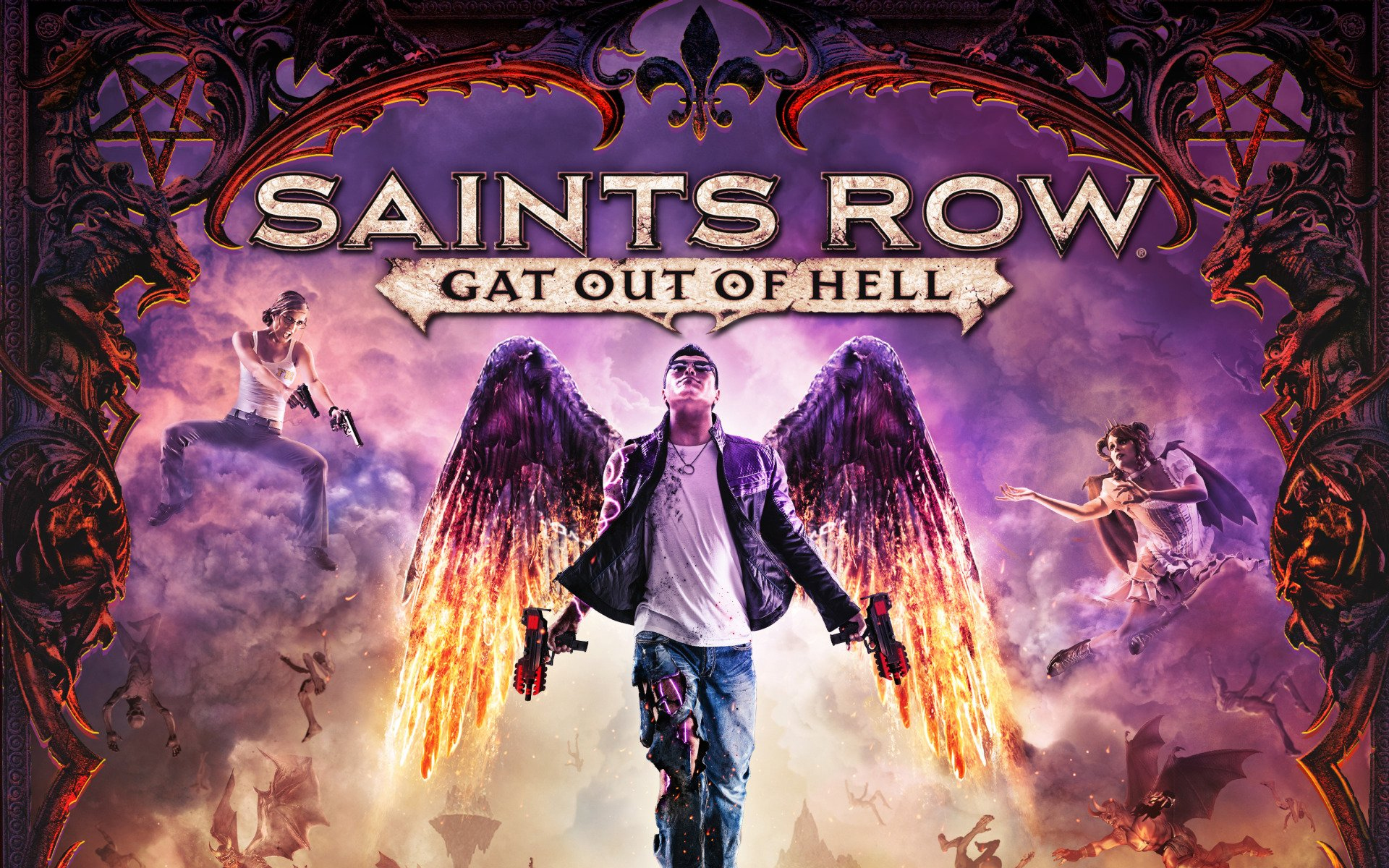 Saints Row Gat out of Hell Free Download
