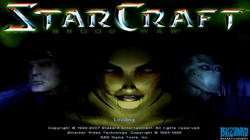 The original starcraft and brood war expansion are now completely.