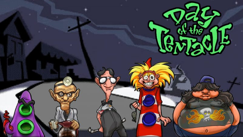 THE DAY OF TENTACLE SCARICARE