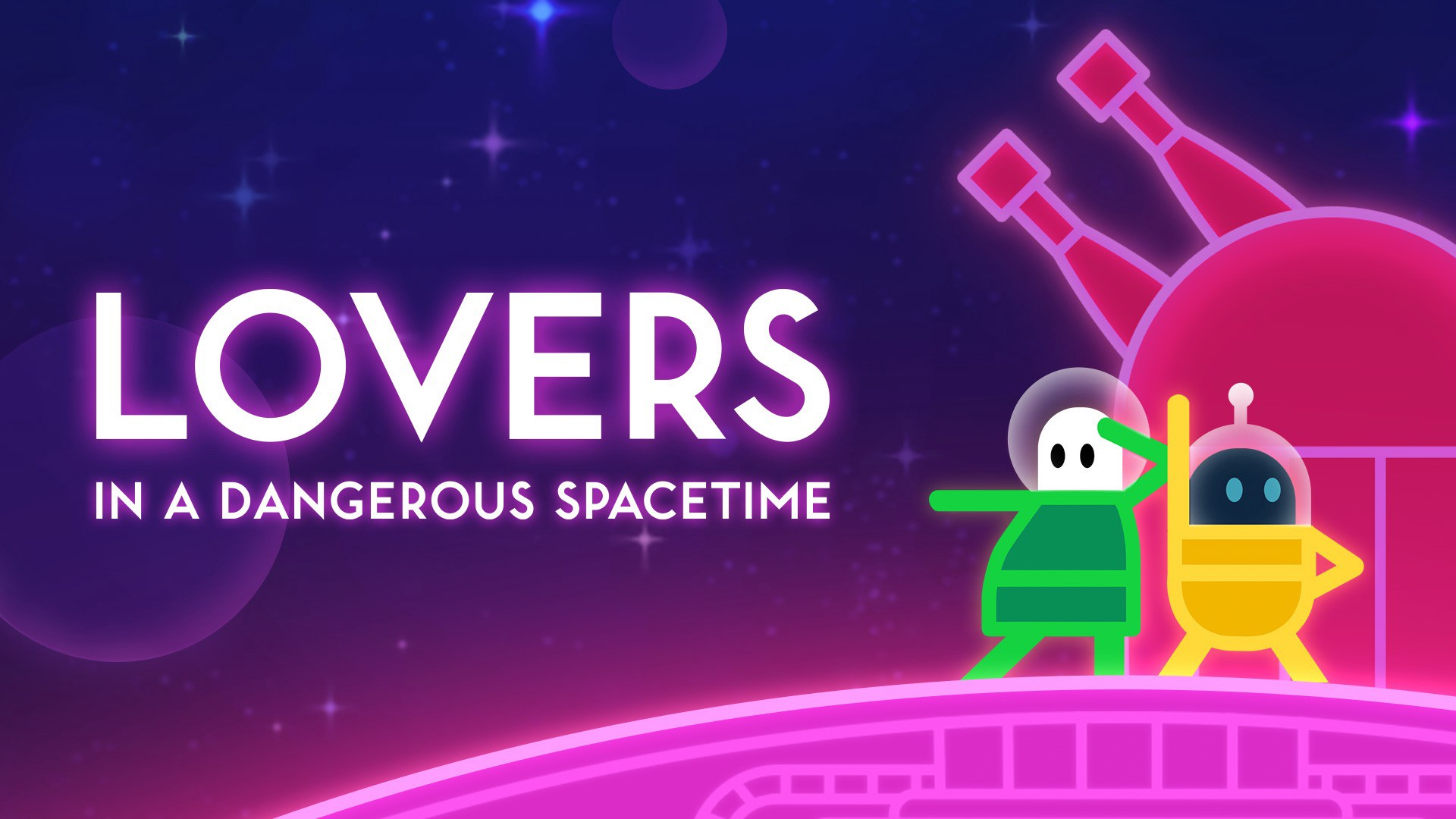 Lovers in a Dangerous Spacetime Free Download