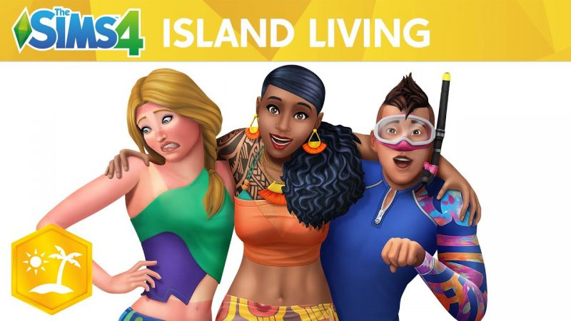 The Sims 4 Island Living Free Download