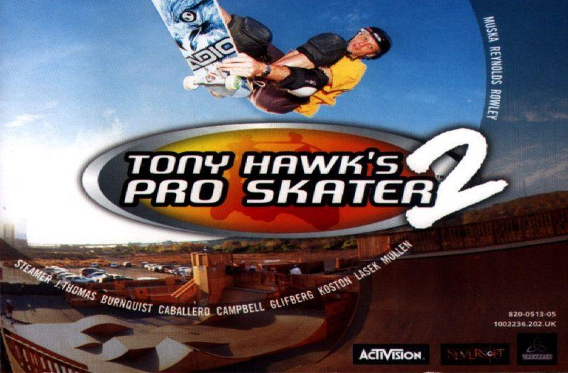 Tony hawk's pro skater 2 download.