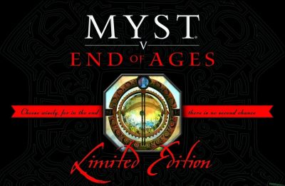 Myst V End of Ages Limited Edition Free Download