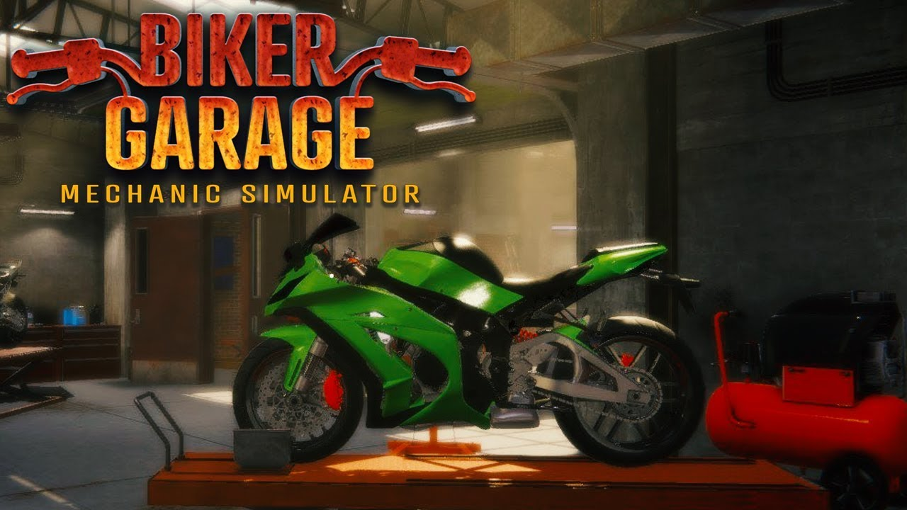 Biker Garage Mechanic Simulator Free Download