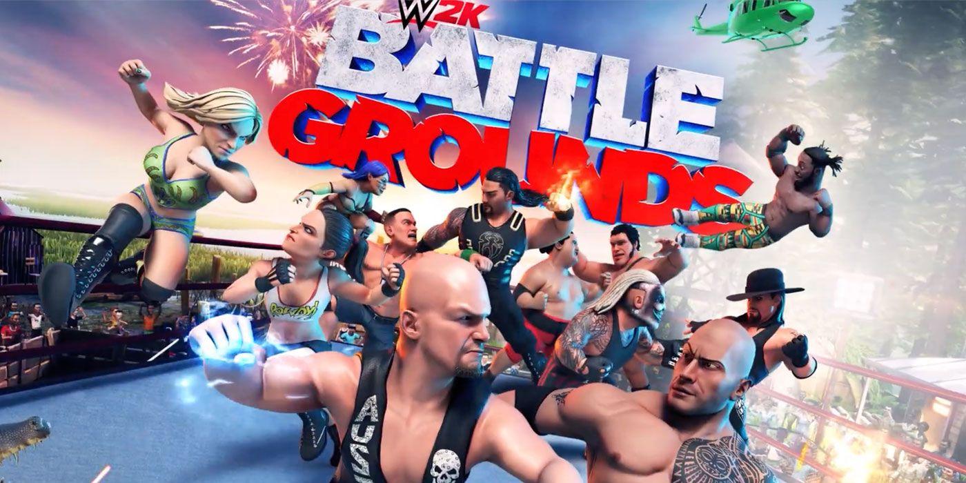 WWE 2K Battlegrounds Free Download