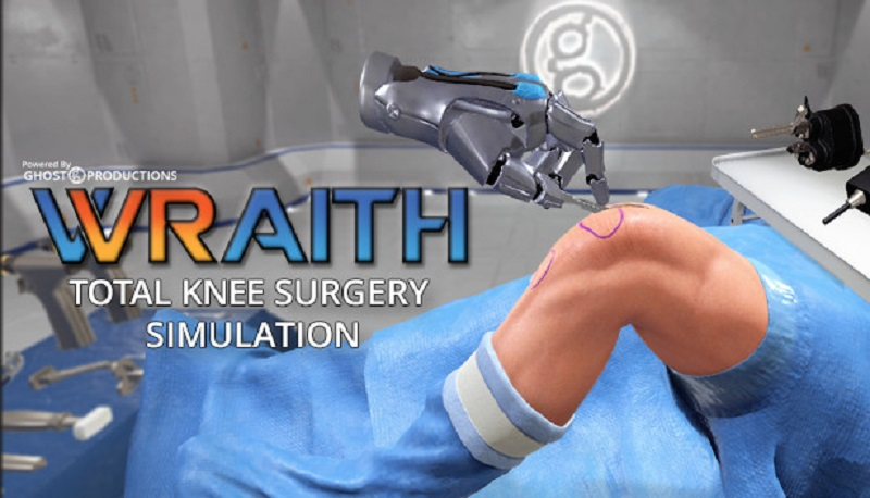 Ghost Productions Wraith VR Total Knee Replacement Surgery Simulation Free Download