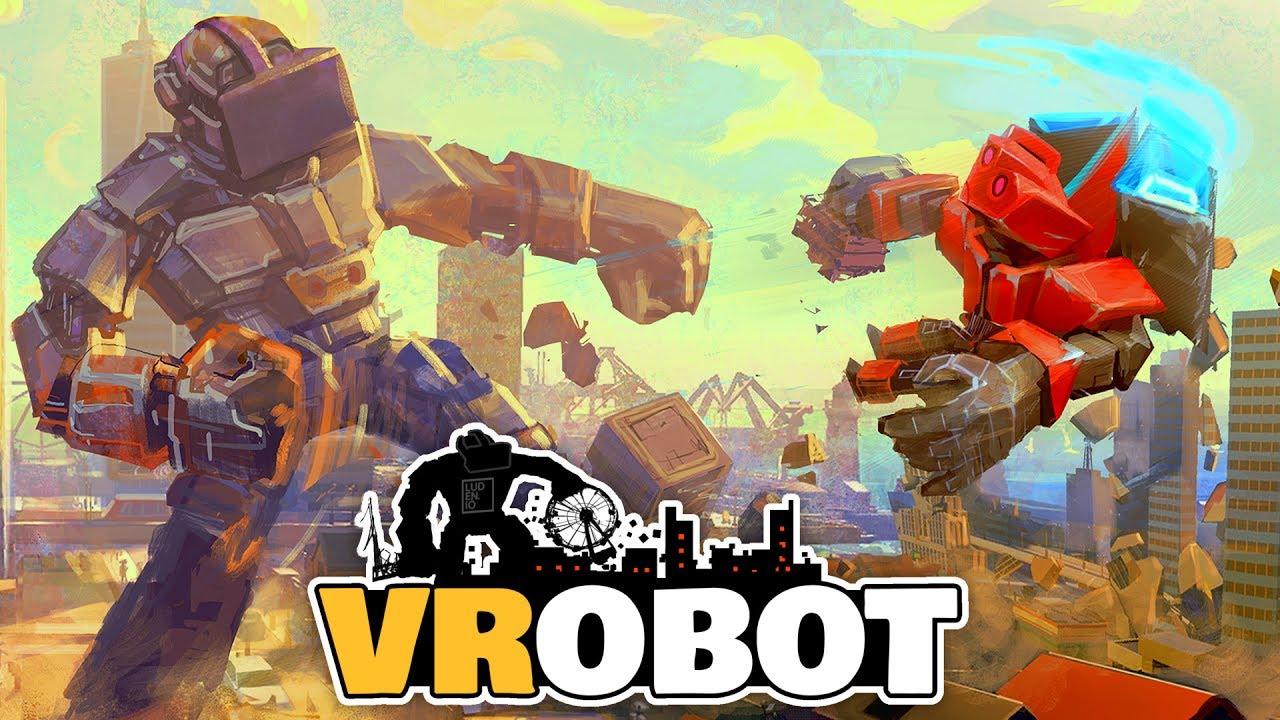 VRobot VR Giant Robot Destruction Simulator Free Download