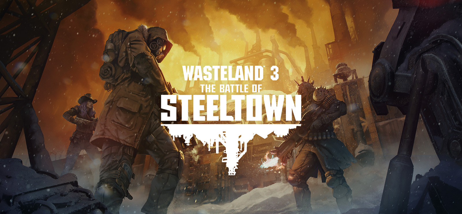 Wasteland 3: The Battle of Steeltown Free Download