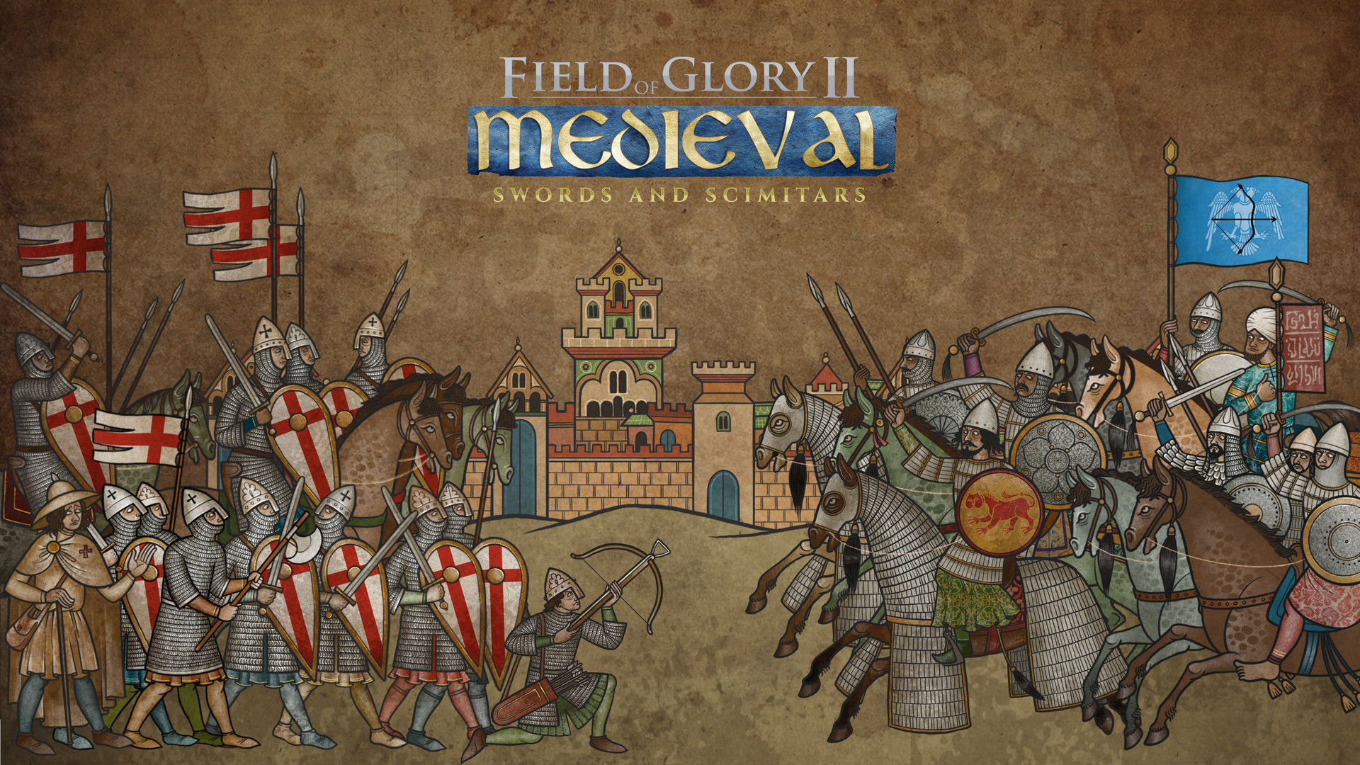 Field of Glory II Medieval - Swords and Scimitars Free Download