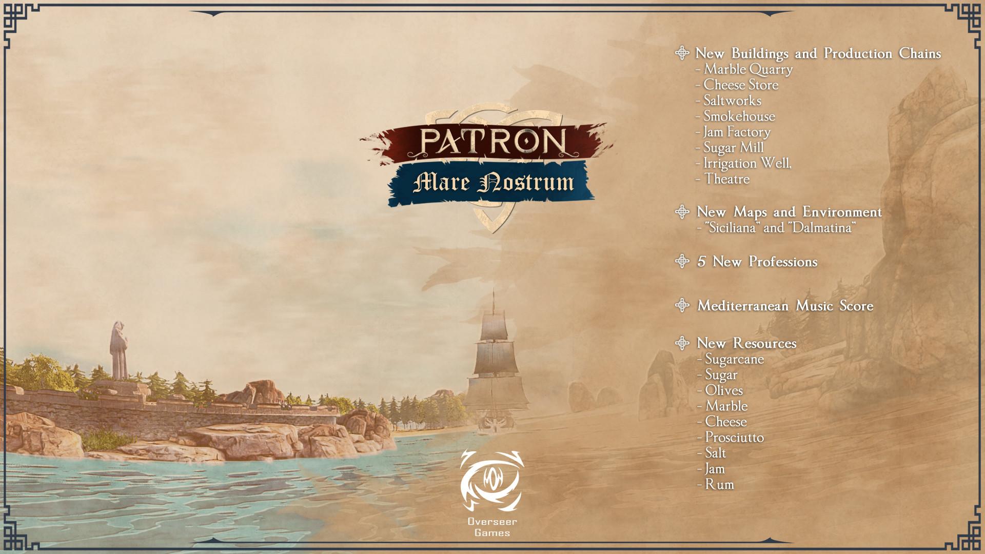 Patron - Mare Nostrum Free Download